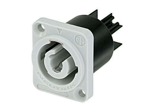 PowerCON Neutrik NAC3MPB-1 Powercon Einbaukupplung grau