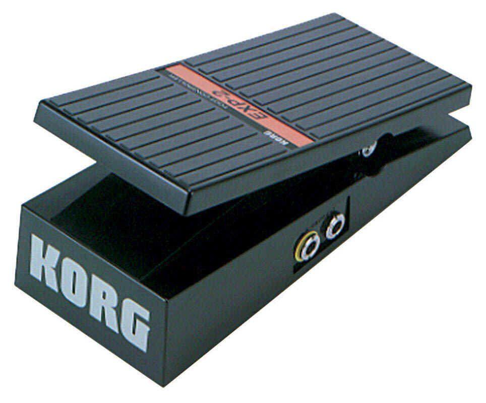 Korg Volumenpedal EXP-2 für alle Keyboards und Synthesizer vor Korg
