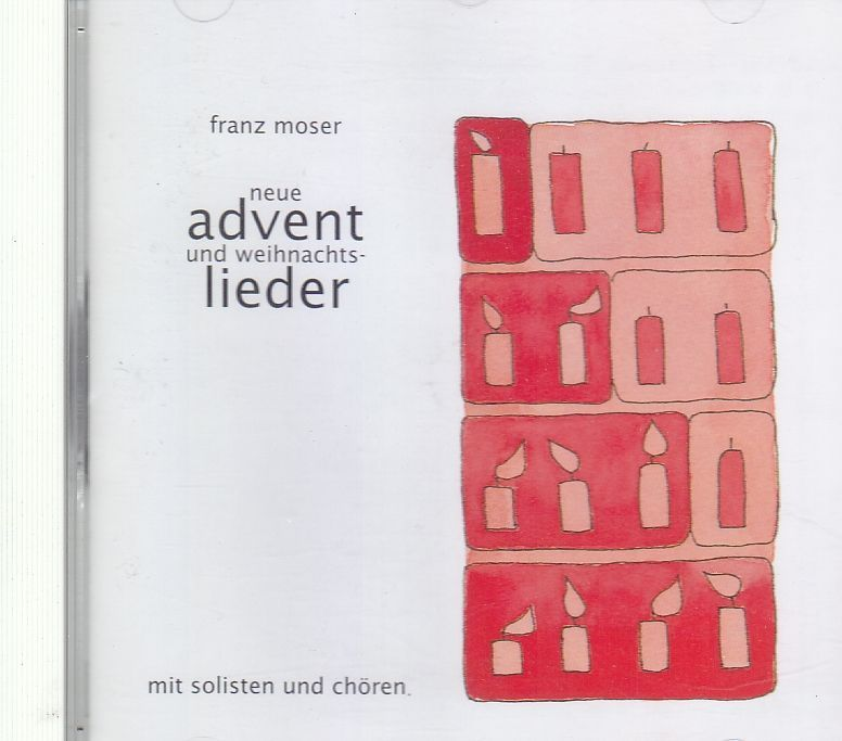 CD gebraucht Advent - Franz moser CD