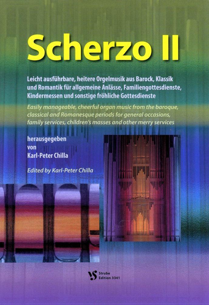 Noten Scherzo 2 II Karl Peter Chilla Strube VS 3341 Orgel Gottesdienst