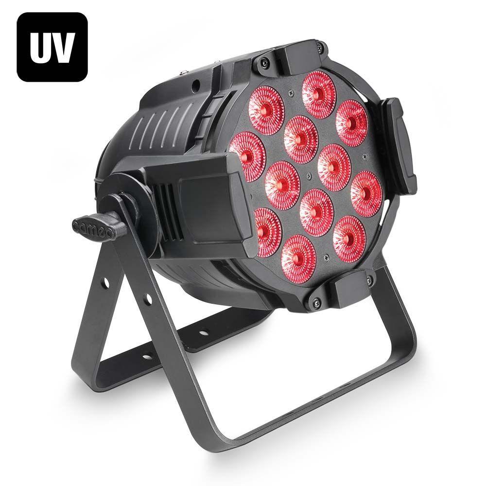 Cameo Studio PAR 64 CAN RGBWA+UV 12 W  QUAD Colour LED RGBWA+UV PAR