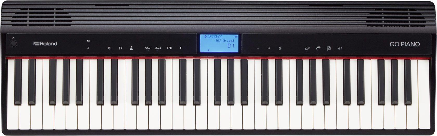 Roland Go Piano Stagepiano mit Lautsprechern, 61 Tasten mit Anschlagdynamik