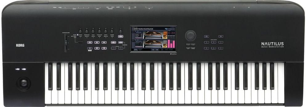 Korg NAUTILUS 61 Music Workstation Synthesizer
