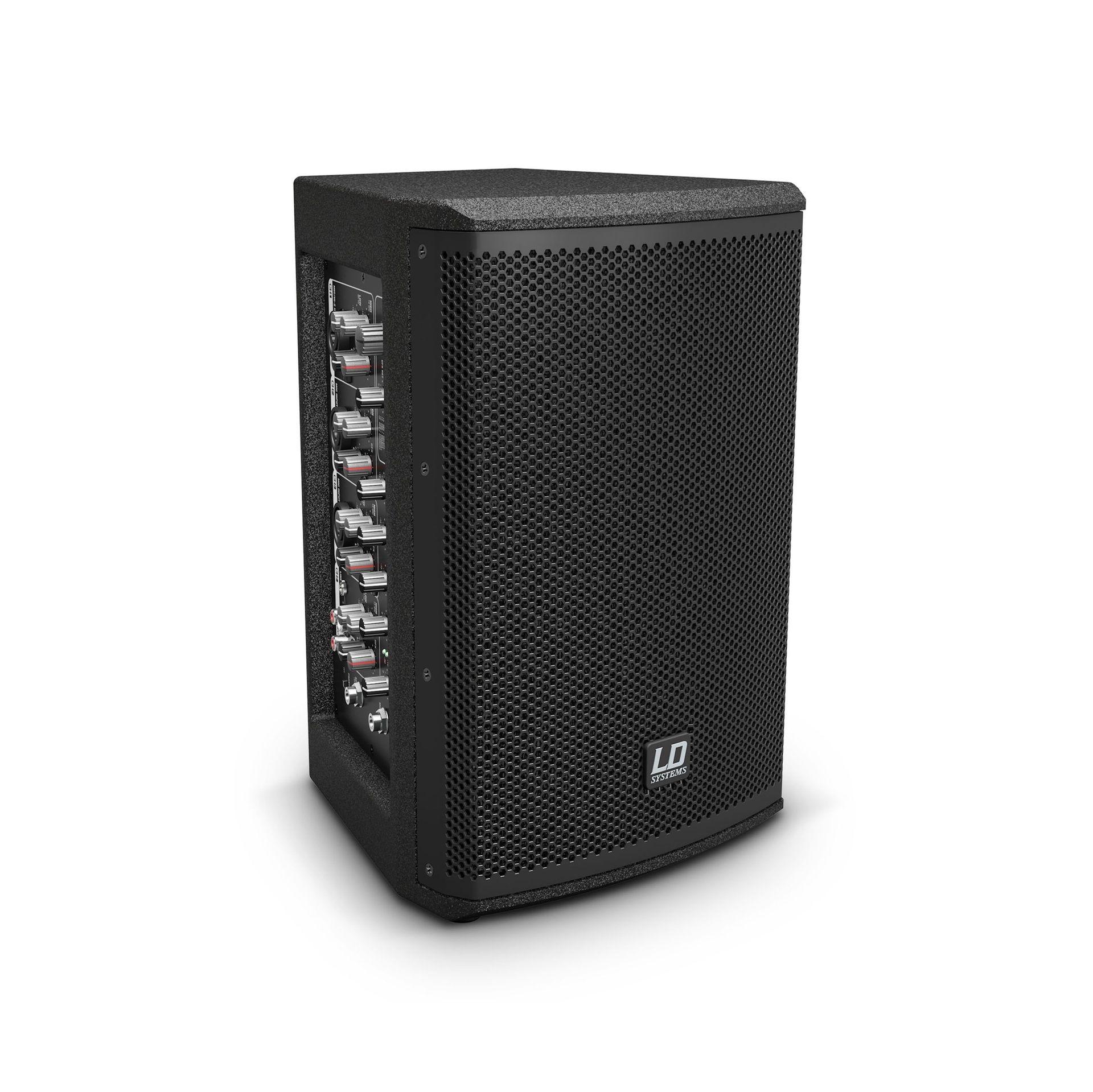 LD Systems Stinger MIX 6 A G3 Aktivbox mit integriertem 4-Kanal-Mixer