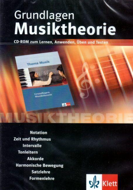 Grundlagen Musiktheorie CD-ROM Notation Klett Verlag 179031