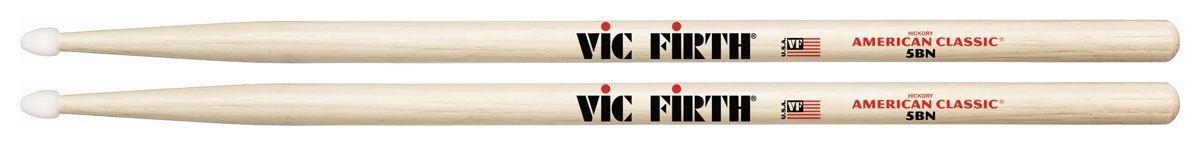 Vic Firth 5BN Drumsticks Hickory Nylon