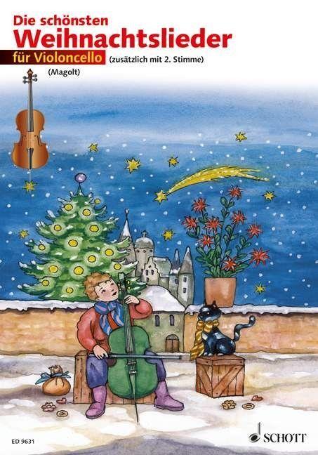 Noten Die schönsten Weihnachtslieder für 2 Violoncello Schott ED 9631