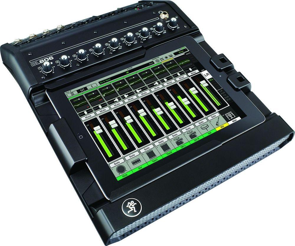 Mackie DL 806 Lightning Mischpult Dock für Apple iPad