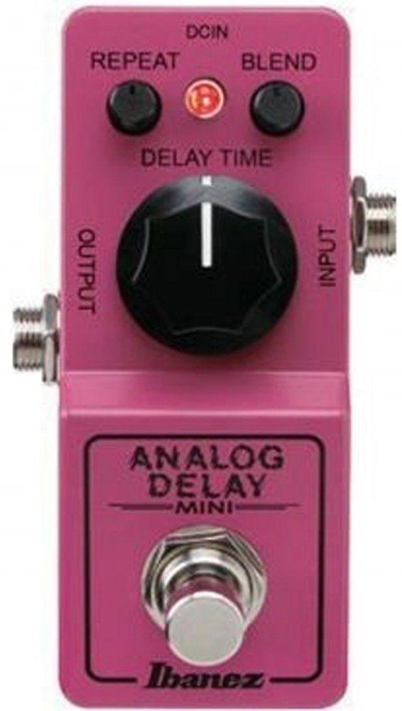 Ibanez ADMINI Analog Delay Mini, Effektgerät für E-Gitarre