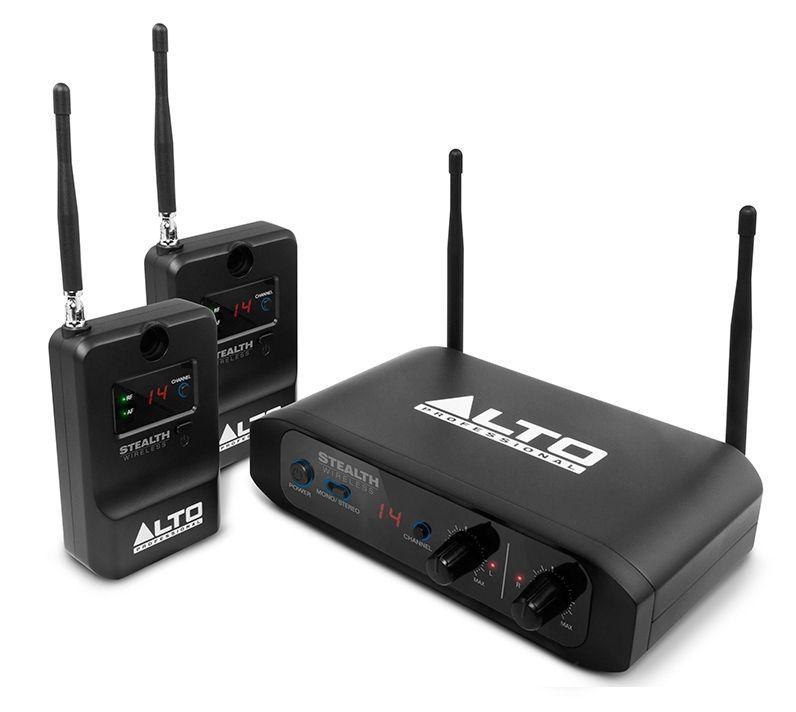 Alto Stealth Wireless Funkübertragungssystem für jeden aktiven Lautsprecher