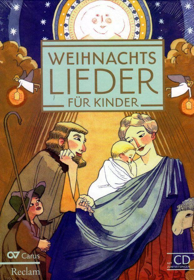 Noten Weihnachtslieder für Kinder Carus CARUS 2404 incl. CD Kramer Evelin
