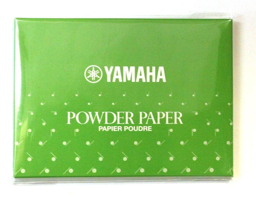 Yamaha Powder Paper III, für Lederpolster, Fischhautpolster