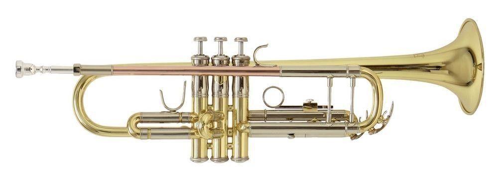 Bach TR-501 lackiert B-Trompete, Bohrung 11,68mm, , incl.Etui u. Zubehör