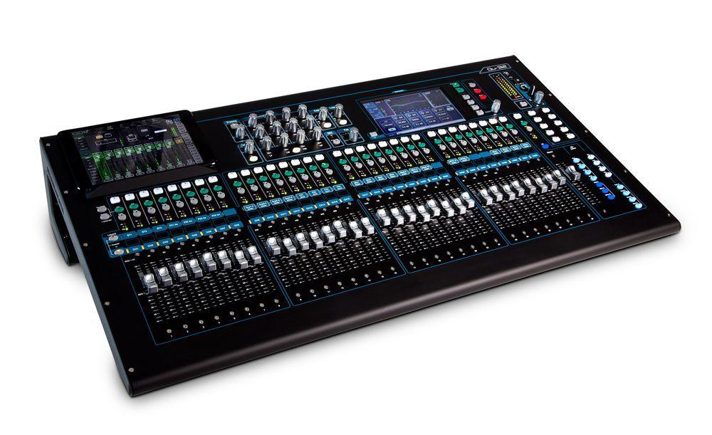 Allen&Heath QU-32 Chrome Digitalmixer für Live und Studio/Installation, 32 Kanal