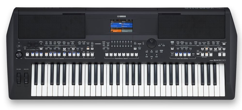Yamaha PSR-SX600 Keyboard mit USB und Music Data Base