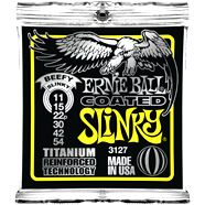Ernie Ball  EB-3127 E Gitarren Saiten Coated Slinky Titanium .011-.054