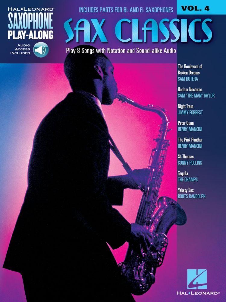 Noten Sax Classics 4 für Alt- & Tenorsax HL 114393 incl. Playback download Code