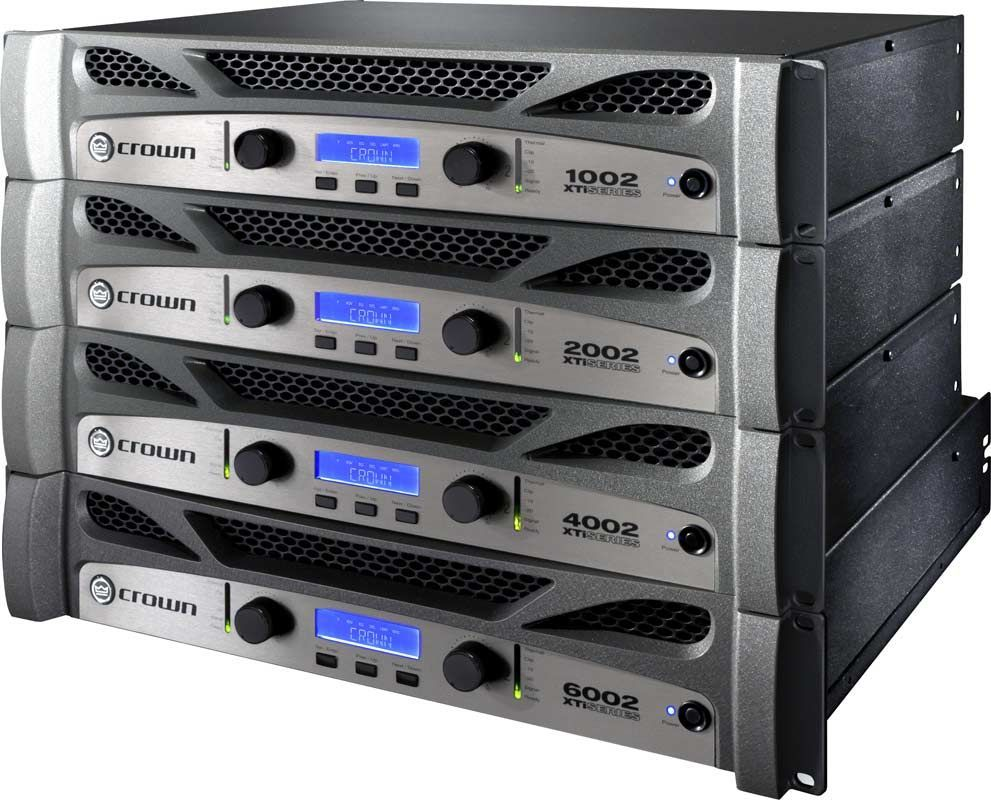 Crown XTI 1002 Endstufe mit digitalem Signalprozessor 1000 Watt Verstärker