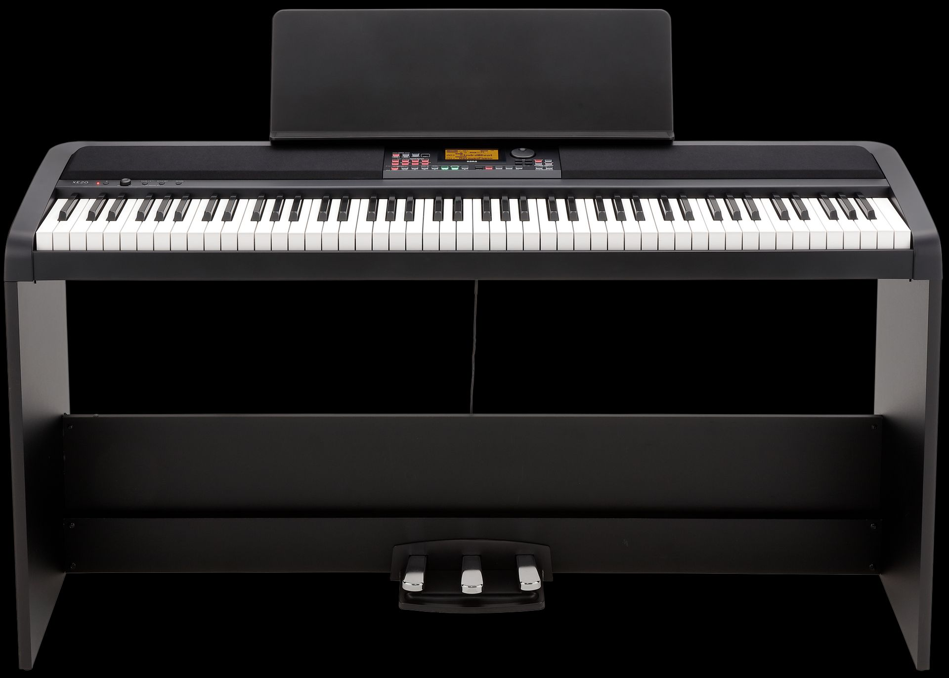 Korg XE20 SP Digitalpiano, Ensemblepiano, incl. Untergestell und Pedaleinheit,