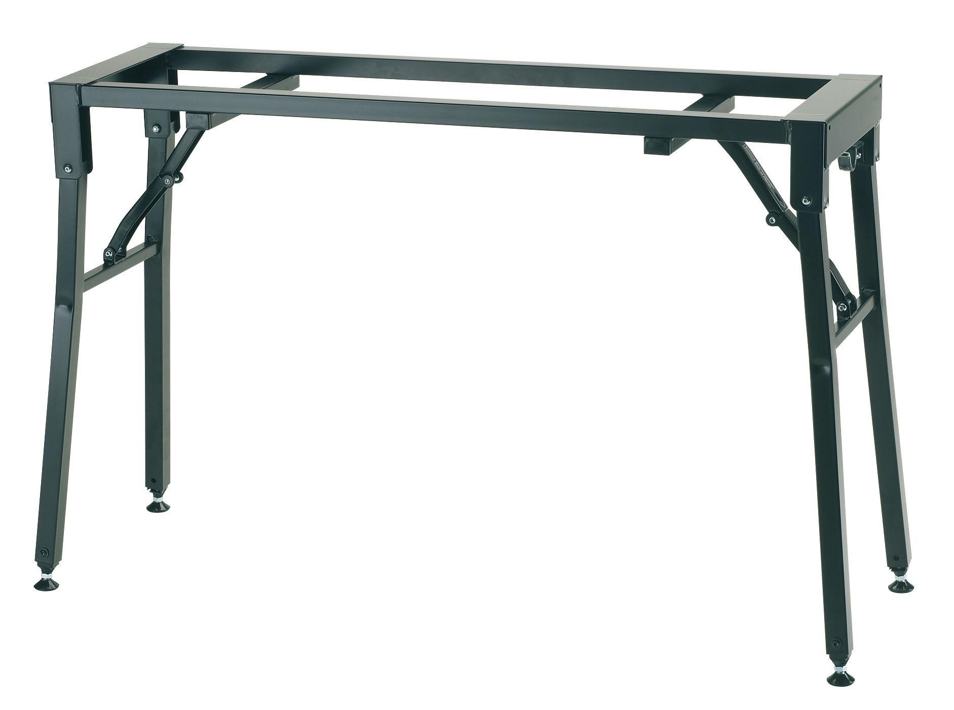 K&M 18953 Klapptisch-Untergestell für Stagepianos, bis 80 kg belastbar,