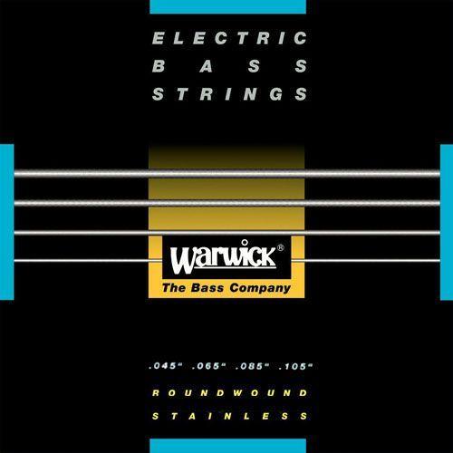 Warwick Black Stainless E-Bass Saiten 4 Strings  045-105