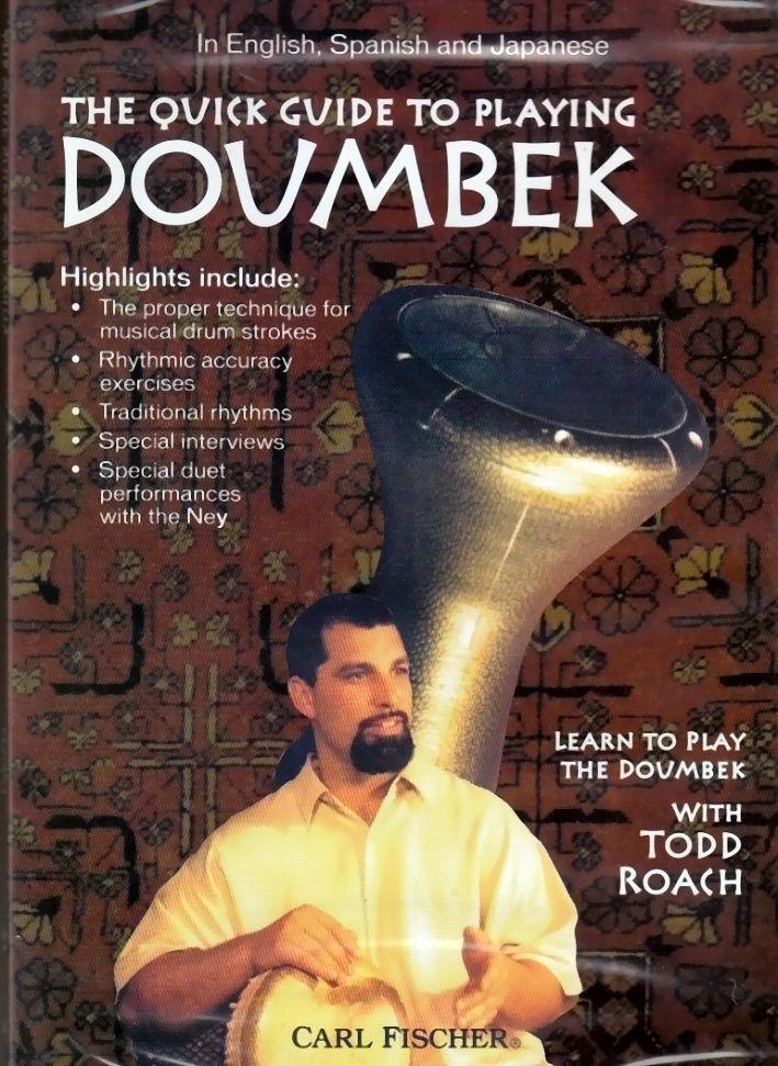 DVD The quick guide to playing Doumbek englisch spanisch japanisch