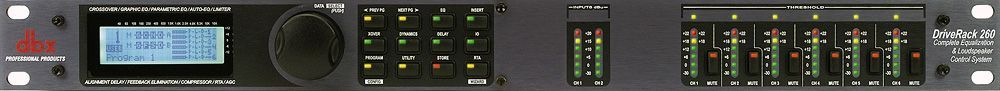 dbx Drive Rack 260 Digitales Lautsprecher-Management System