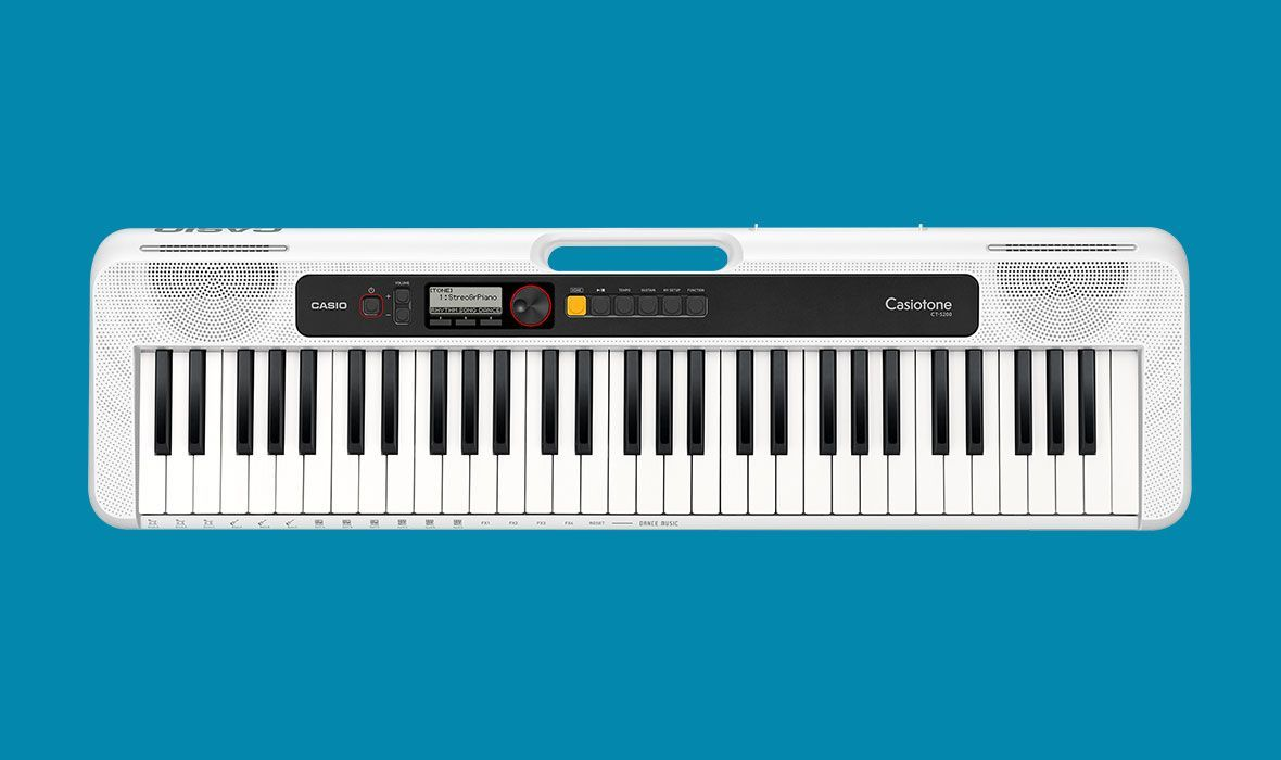 Casio CT-S200WH weiß Keyboard incl.Netzadapter, USB,