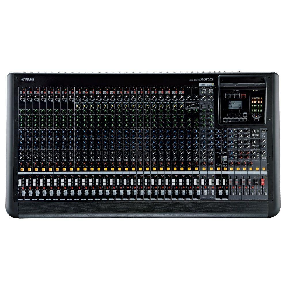 Yamaha MGP32X Mixer, Mischpult, 24 Mikrofoneingänge, 4 Stereoinputs, Effekte
