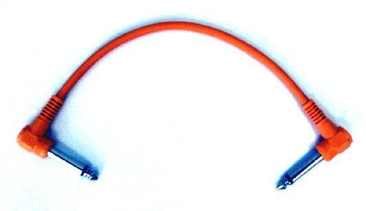 Patchkabel 6,3mm Winkelklinkenstecker 6,3mm Winkelklinkenstecker, 0,15 Meter