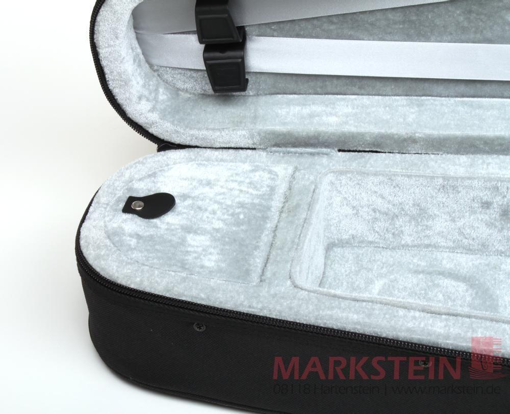 Etui Koffer für Violine 3/4 Größe CVF Form-Koffer mit Rucksackträgern