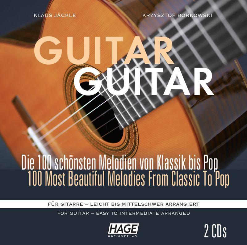 CD Guitar Guitar mittelschwer 2 Cds mittelschwer HAGE CDSET 3833 / 4026929920102
