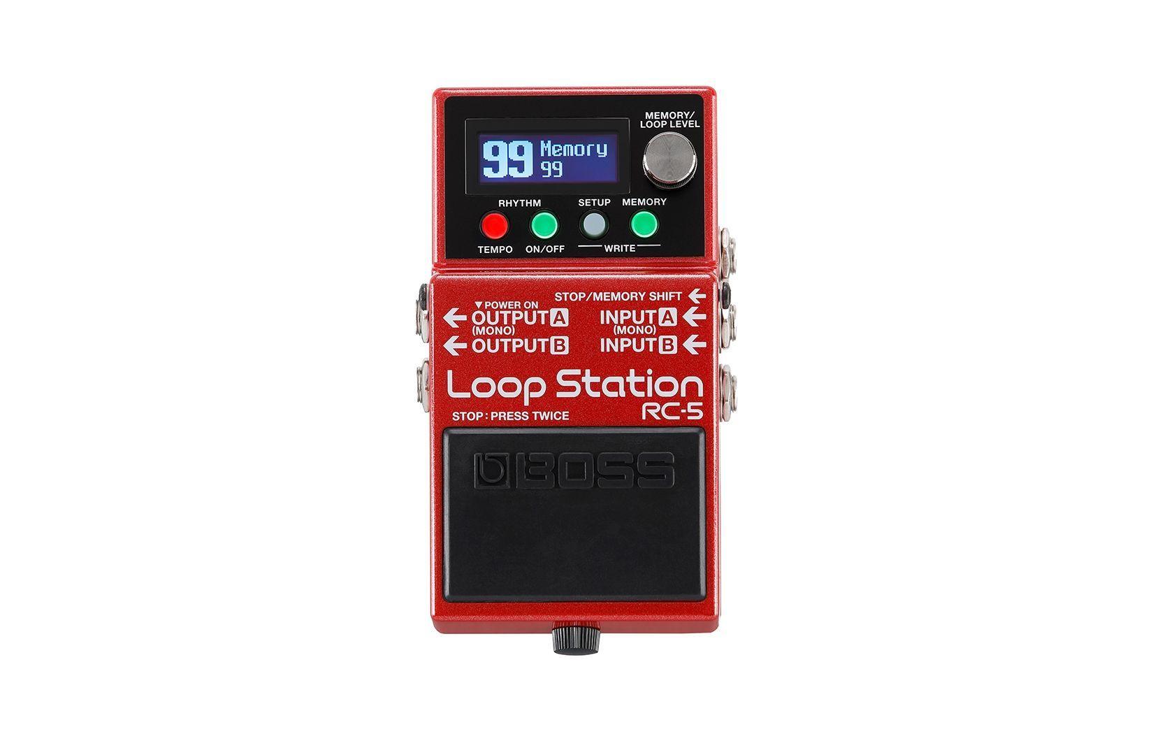 Boss RC-5 Loop Station, Effektgerät für E-Gitarre
