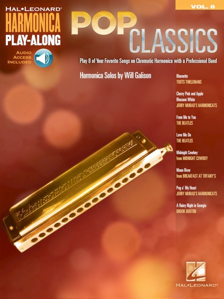 Noten Mundharmonika Pop classics Harmonica Play-Along Volume 8 HL 00001090