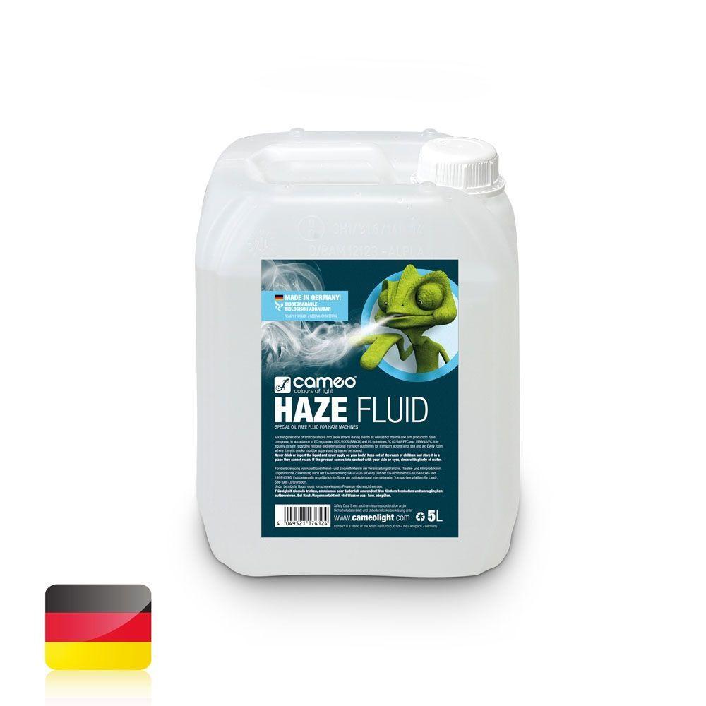 Cameo HAZE Fluid 5L  für feine Nebeldichte und lange Standzeit, ölfrei