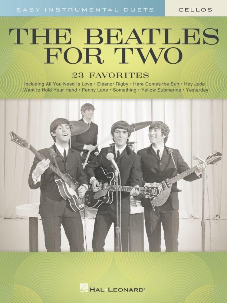 Noten Beatles for Two - 2 Celli Violoncello Duette 23 Titel HL 291030