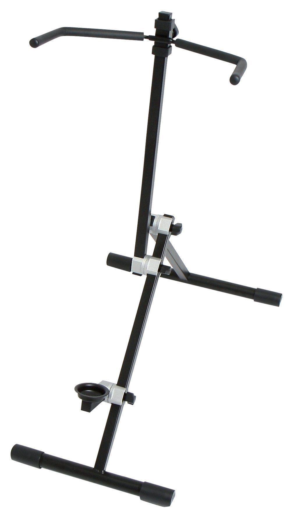 Celloständer mit Gear-System-Verstellung, zusammenlegbar,  Höhe verstellbar