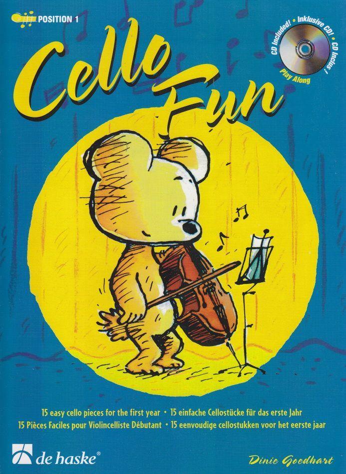 Noten Cello Fun bekannte Lieder incl. CD deHaske 1043560  9789043119405