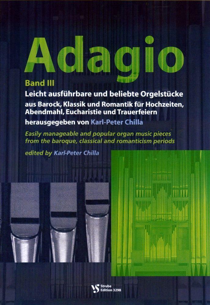 Noten Adagio 3 Karl Peter Chilla Strube VS 3298 Orgel Gottesdienst