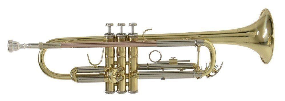 Bach TR-650 lackiert B-Trompete, Bohrung 11,66mm, , incl.Etui u. Zubehör
