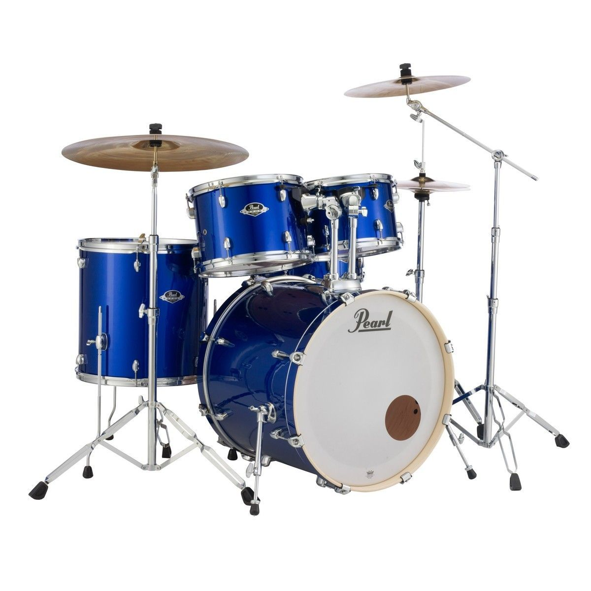 Pearl Export EXX705NBR/C717 Drumset high voltage blue 20/10/12/14/ Snare