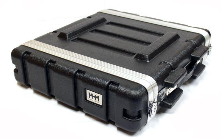 "19"" Rack, 2 HE, MHM SKB-kompatibel, aus ABS Kunststoff"