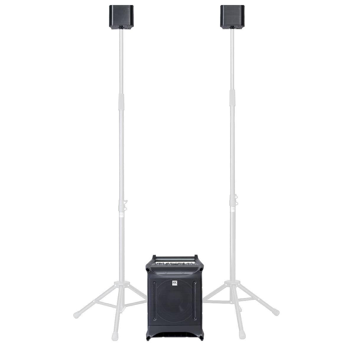 HK Audio LUCAS Nano 305 FX aktives Portables Stereo PA-Boxensystem