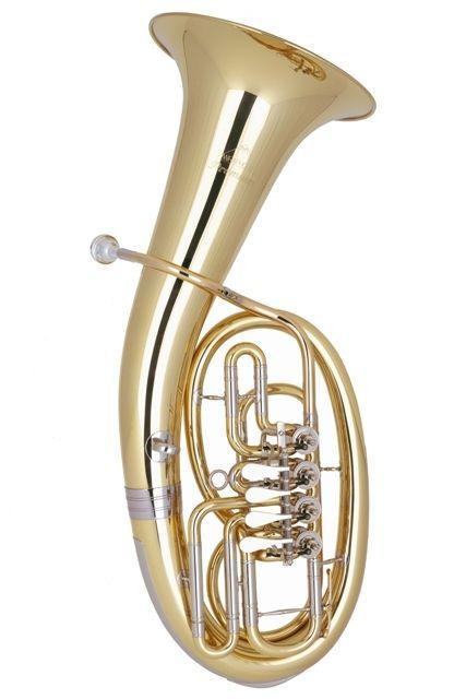 Miraphone 54-L Loimayr B-Bariton Messing 54L 0700A 4 Ventile